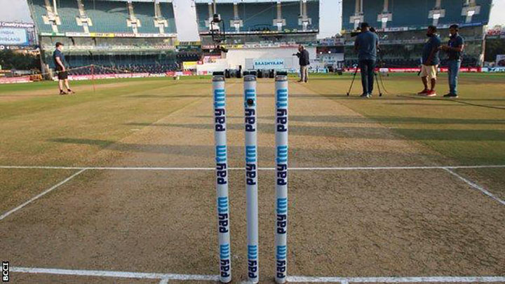 The test wicket in Chennai has people talking