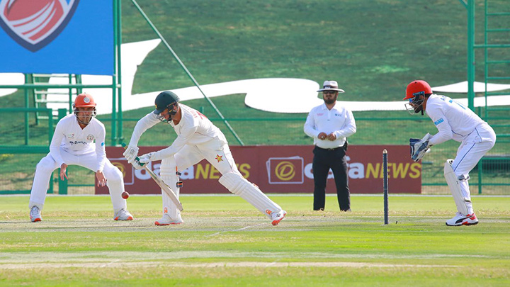 AFG battle ZIM in tomorrows 2nd test