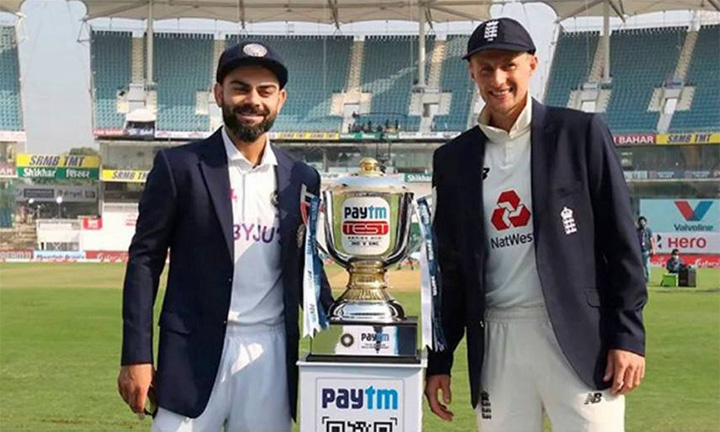 India v England 2021 test captain and cup