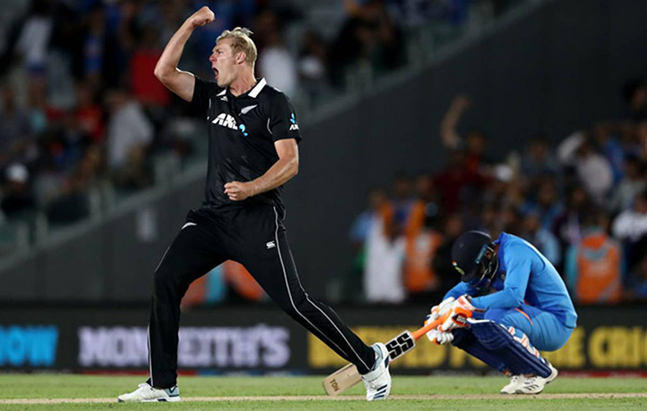 Kyle Jamieson NZ test player nad IPL debutante