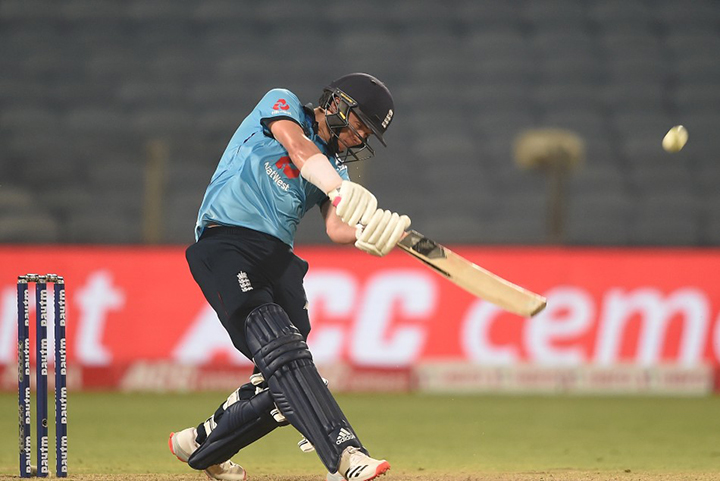 Sam Curran nearly won the final ODI for England but just fell short