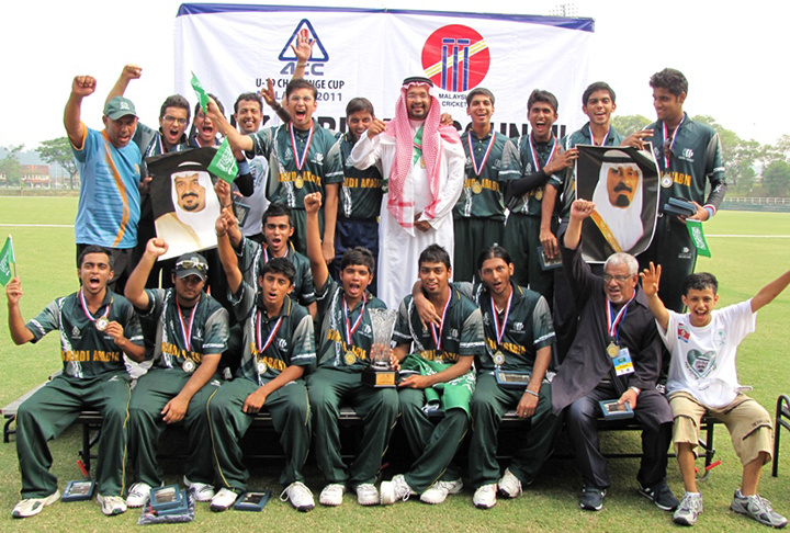 Saudi Arabia is expanding it's vision for cricket in the country