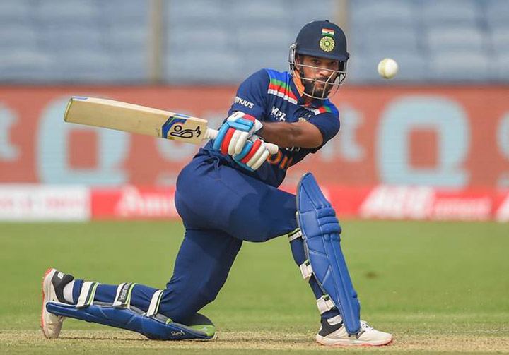 Shikhar Dawan just missed out on a hundred
