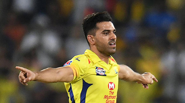 Deepak Chahar ripped the heart out of the Knight Riders in Mumbai