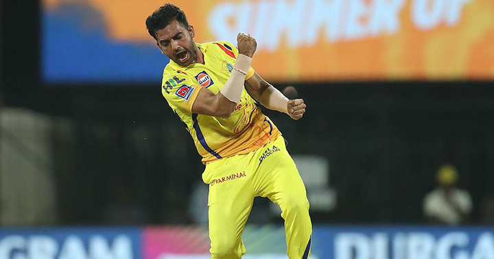 Deepak Chahar picked up his best figures in IPL