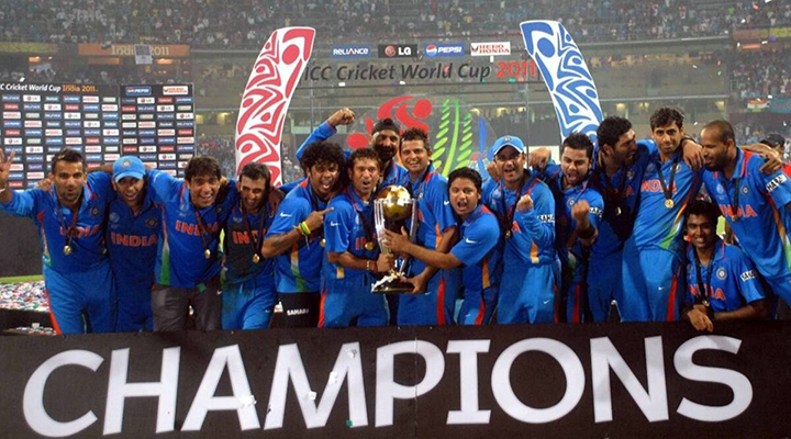 After desolation in the 2007 World Cup, they reached the summit in 2011