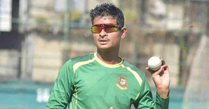 Nasum Ahmed made his Bangladesh debut in T20's away in New Zealand