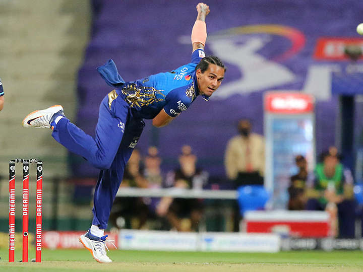 Rahul Chahar bowled a match turning spell