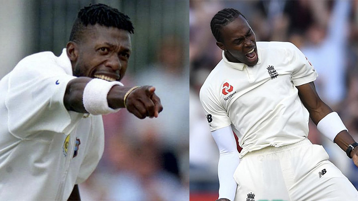 Curtly and Jofra are very similar bowlers according to Steve Waugh