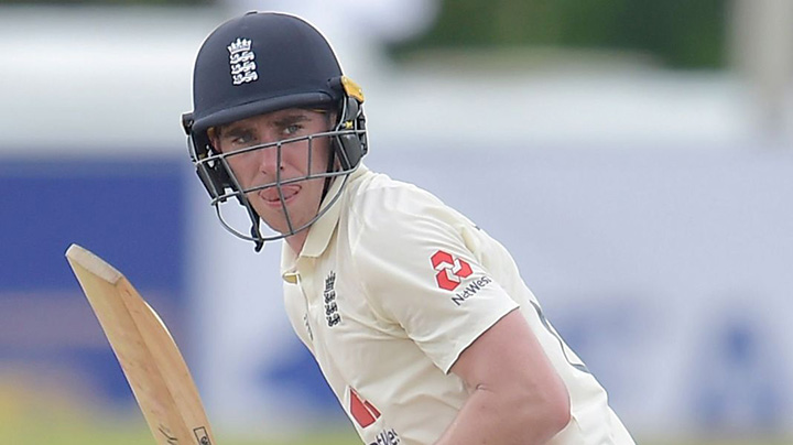 Dan Lawrence remains in the middle order for Chris