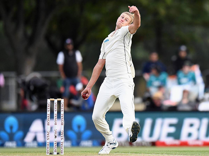Kyle Jamieson took 5 wickets to put New Zealand on top in the WTC final