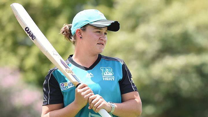 Ash Barty, Wimbledon champ played for the Brisbane Heat in her time off from tennis