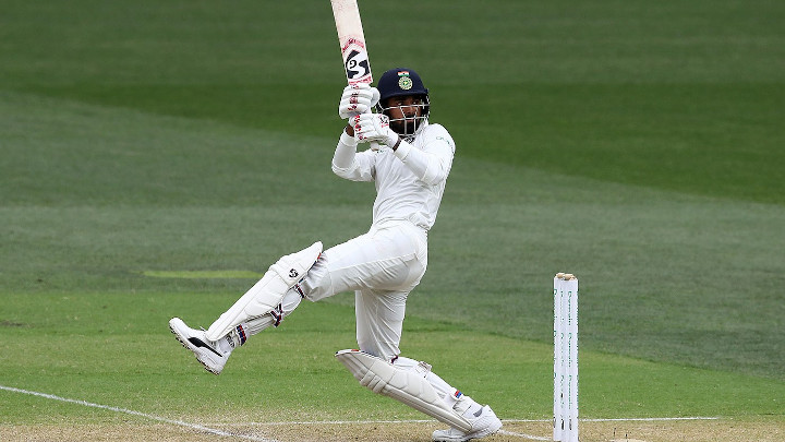 KL Rahul has struck a sprightly fifty.