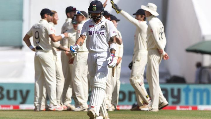 Kohli had his fate sealed by Jimmy Anderson.