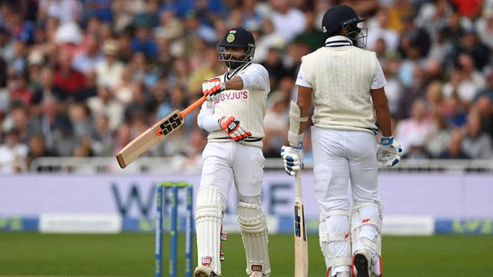 Ravi Jadeja helped push India towards a possible victory in the first test