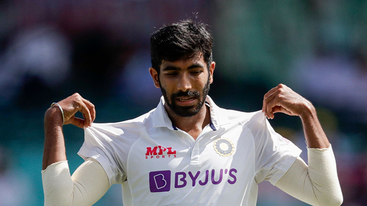 Jasprit Bumrah bowled exceptionally on the opening day of the series