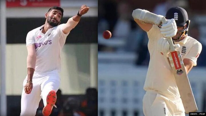 Jasprit Bumrah and James Anderson