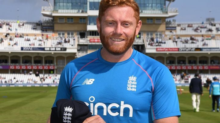 Jonny Bairstow received his 75th Test cap.