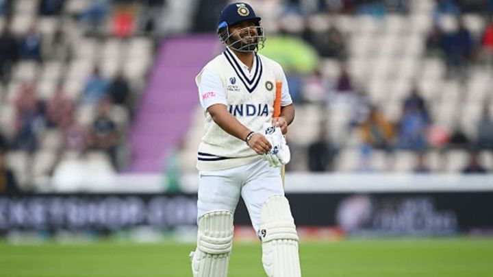 Rishab Pant out after a breezy 20 something