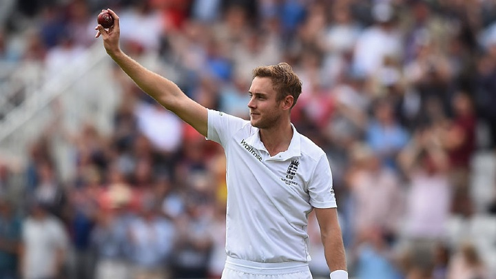 Stuart Broad bowled AUS out for 60 5 years ago