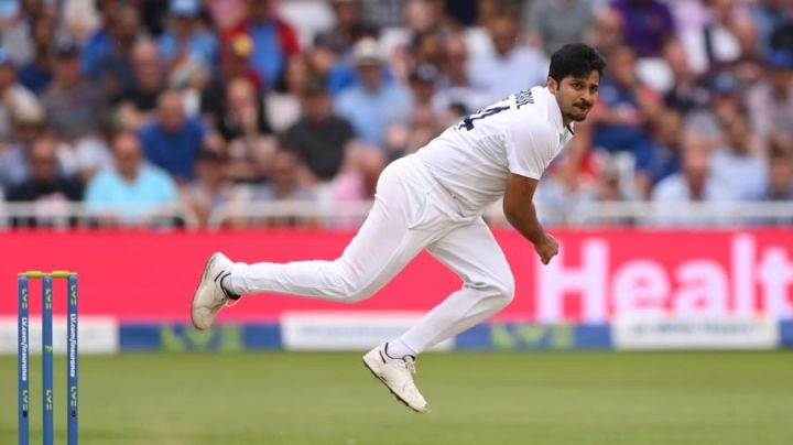 Shardul Thakur has sustained a hamstring injury.