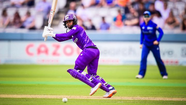 Jemimah has scored runs by the bucketloads in The Hundred.