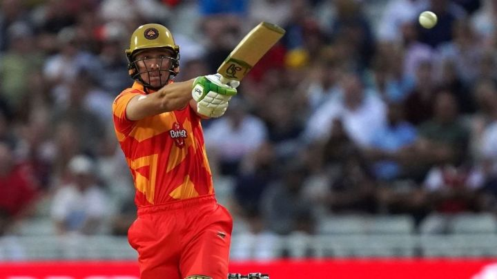 Will Smeed struck three sixes in his fiery knock.