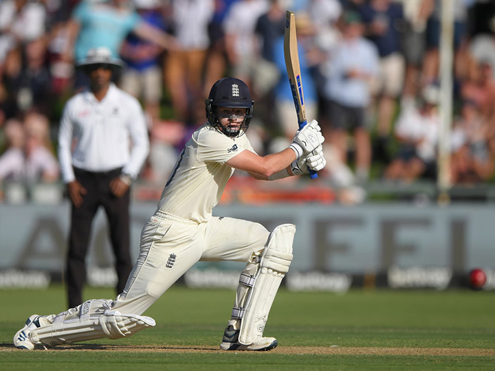 Ollie Pope scored a classy 81 to put England in front in the 4th test