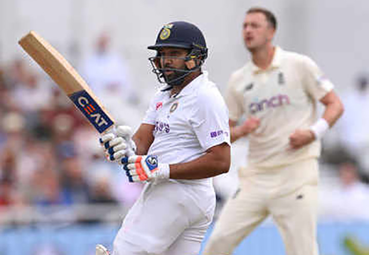 Rohit Sharma finally got a well deserved test ton away from home