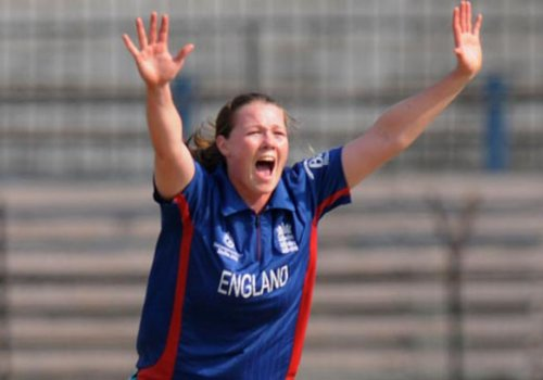 England womens cricketer Anya Shrubsole