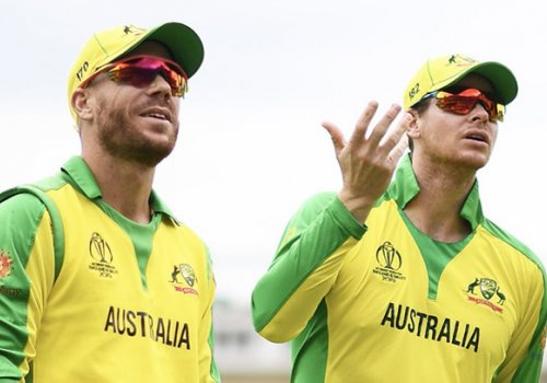 Warner and Smith, Austalian national cricketers