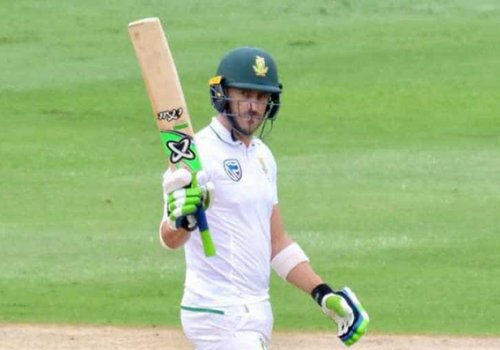 South African cricketer Faf du Plessis