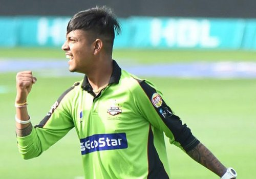 Mystery legspinner Sandeep Lamichane will play in the Blast this year