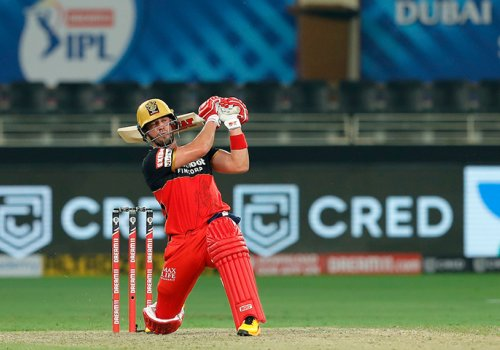 ABD did again today taking an average score to a winning score