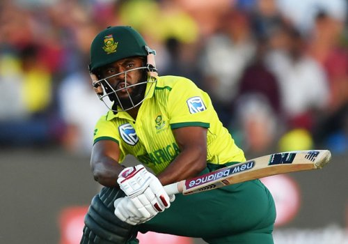 South African skipper Temab Bavuma with out five of his players for final ODI