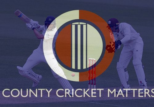 Our friends and fellow Guerillas at County Cricket Matters talk to Adam Collins