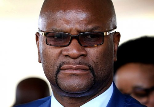 South African sports minister Nathi Mthethwa