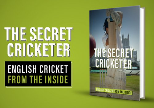 The Secret Cricketer by Pitch publishing