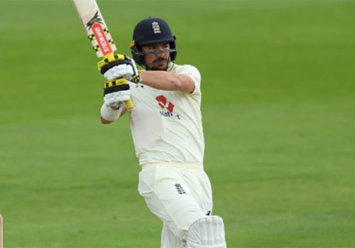 Rory Burns scored a patient innings saving ton