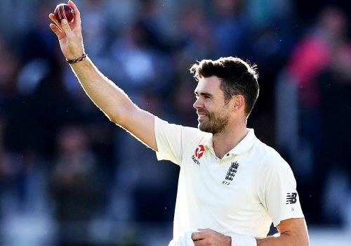 Jimmy Anderson is a marvelous exponent of swing bowling.