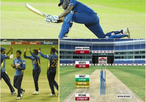 Sri Lankan players don't seem to understand the DRS rules well enough.