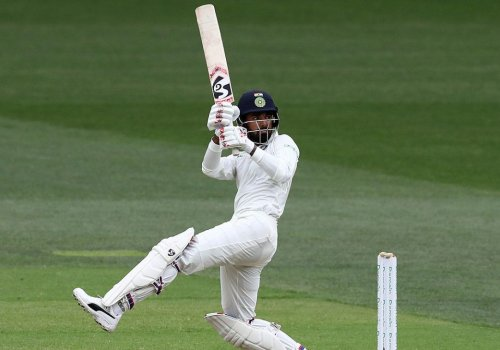 KL Rahul scored a century in the practice match.