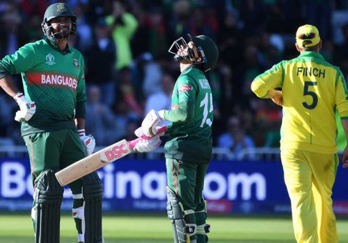 Bangladesh have trouble with TV rights but are beating Australia