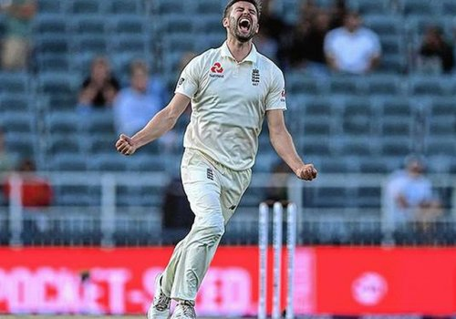 Mark Wood bowled superbly well to take 3 wickets against india