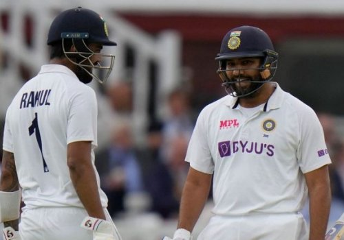 Rohit and Rahul hold fort.