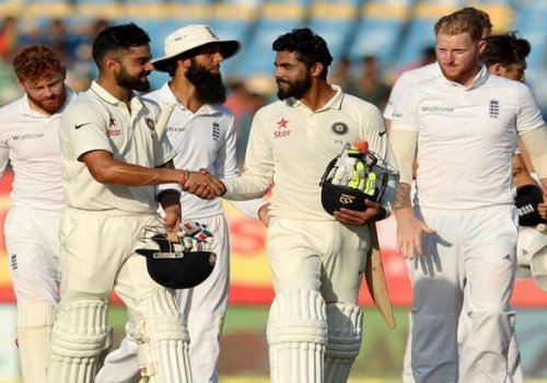 India and England, 2016