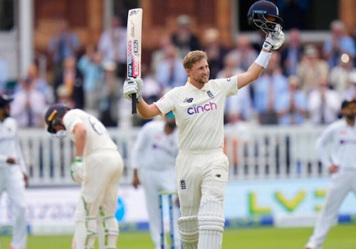 Root cajoled the England batting order to a slender first innings lead