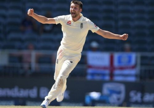 Mark Wood is raring to go.