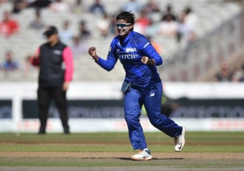 Deepti Sharma provided the star turn with both bat and ball.