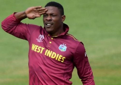 Cottrell salutes.